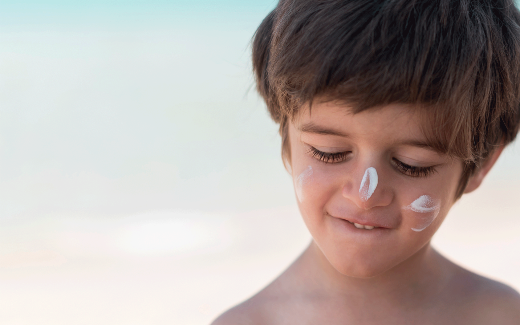 The importance of wearing sunscreen all year long