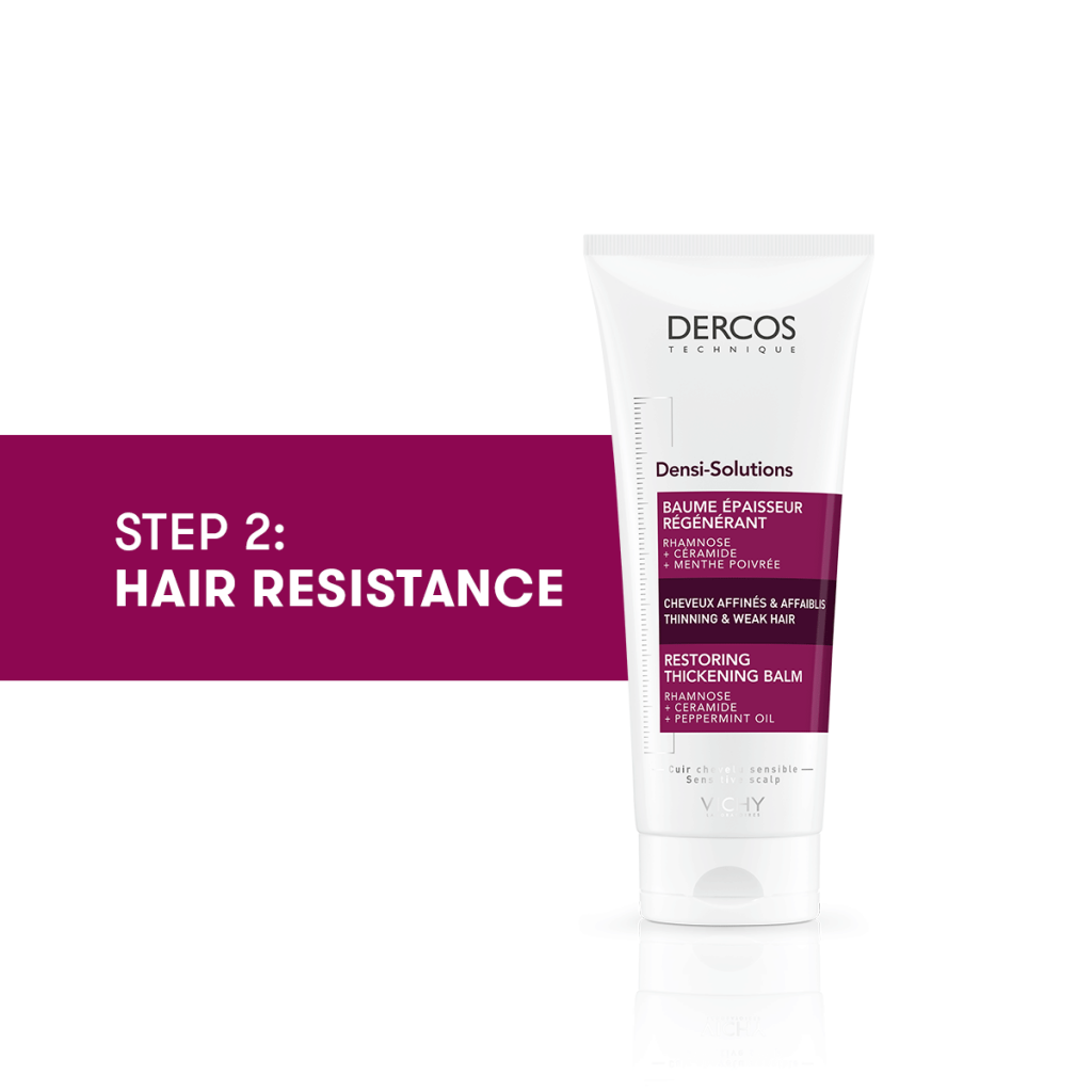 Step 2 Hair Resistance Dercos Densi Solutions Restoring Thickening Balm