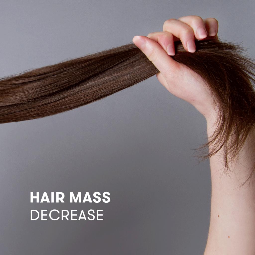 Hair Mass Decrease
